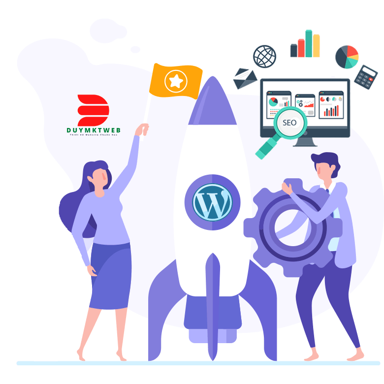 Dịch vụ thiết kế website wordpress chuẩn SEO tại Duy MKT Web